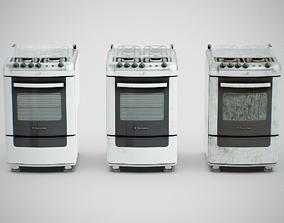 3D asset Stove - Electrolux 52SM