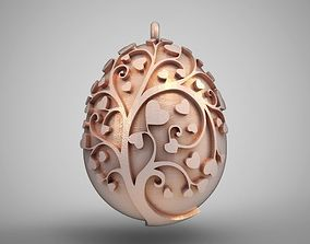 3D print model Egg Necklace