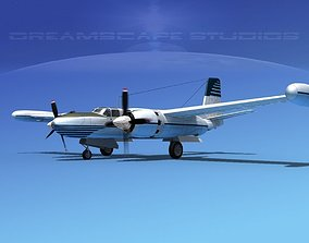 Douglas B-26 Marketeer V06 3D