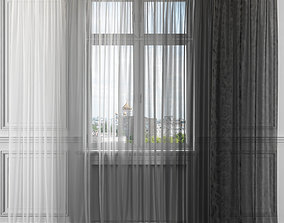 Curtain Set 331 3D model