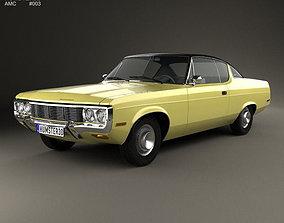 AMC Matador coupe 1972 3D model classic-car