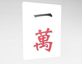 Mahjong v1 001 3D model