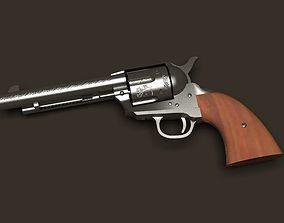 Colt Revolver 3D