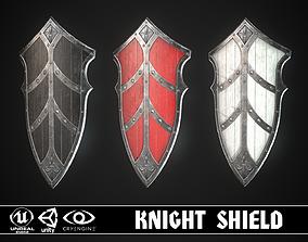 Knight Shield 10 3D asset