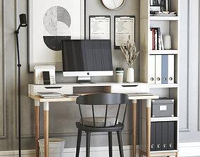 3D model Office workplace 27
