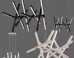 3D Scandinavian pendant lights 018