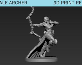 3D printable model Female Archer Mini