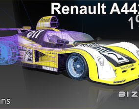 3D model Renault A442B 1978 LeMans