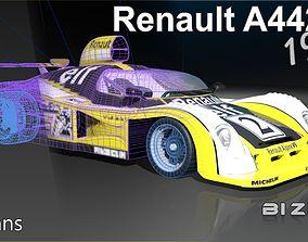 3D model Renault A442B 1978 LeMans