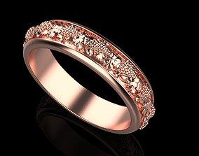 Grape ring 3D print model