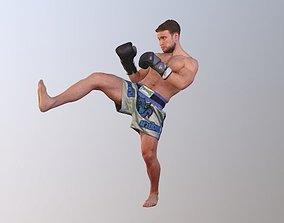 No96 - Kick Boxer 3D model