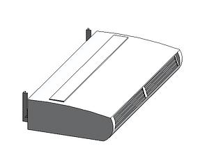 aire 3D model AIRE ACONDICIONADO