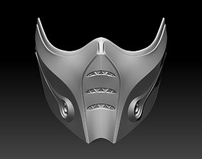 Sub Zero mask for cosplay Mortal 3D printable model 3
