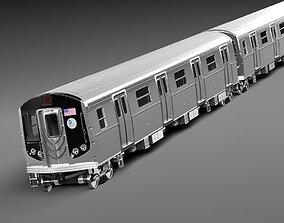 3D model NYC Subway R160