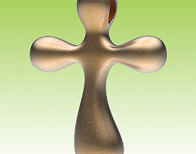 Cross Graceful 3D print model holy