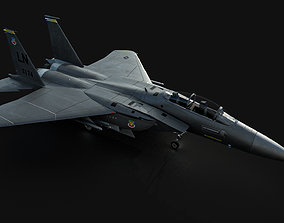 3D model realtime F15E Strike Eagle
