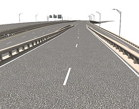 3D model Freeway Section