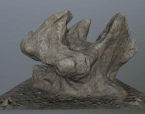 mosy rocks 3D model VR / AR ready
