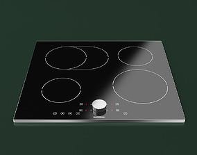 Gaggenau Induction Cooktop 3D model