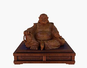 architectural Chinese Buddha 3D