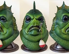 3D printable model Donnie LaGoon Bust