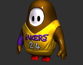 3D print model Fall guys Kobe Bryant