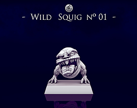 3D printable model Wild Orc Squigs -n01 to n03- 28mm