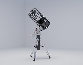 3D model Ritchey Chretien Telescope