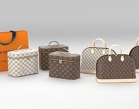 LV bags 3D model