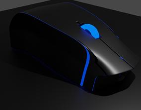 3D model RGB Mouse