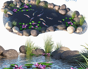 Koi fish - Koi aquarium 3D