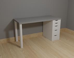 3D Lagkapten Alex ikea desk