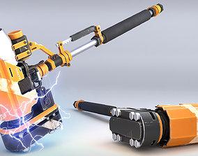 Rocket Hammer 3D asset