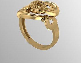 Ring 15 rings 3D printable model