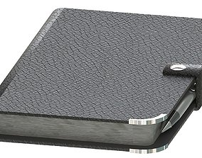 3D model Leather journal notebook diary