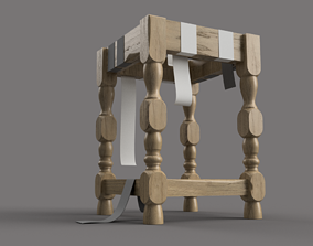3D Workshop wooden chair