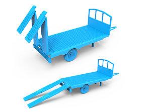 tire 3D print model Trailer