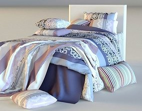 Double Bed Bed Linen 3D