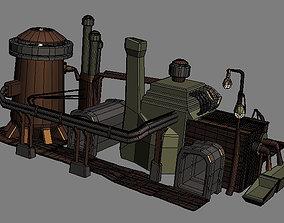 3D model Game house