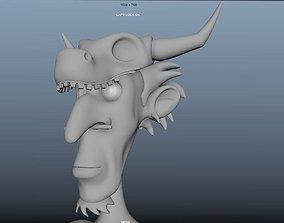 3D model Jungle Man or Cave Man