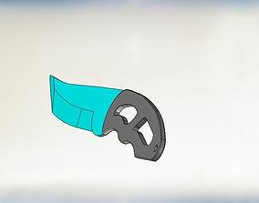 3D print model knife knight