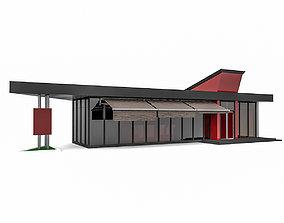 3D Cafe Coffee Shop