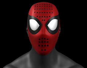 Into the Spider-Verse Spider-Man Faceshell 3D Printable 1