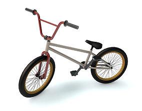 Bicycle 3D model bicycle bmx