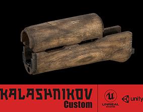 AK - Handguard - AKM-WOOD 3D asset
