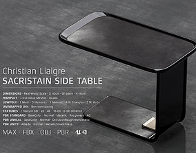 Sacristain Side Table by Christian Liaigre 3D asset