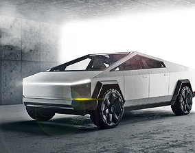 3D Tesla Cybertruck