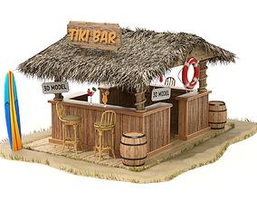 3D Beach Bar