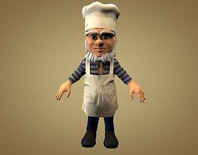 Cook or Kitchener 3D model