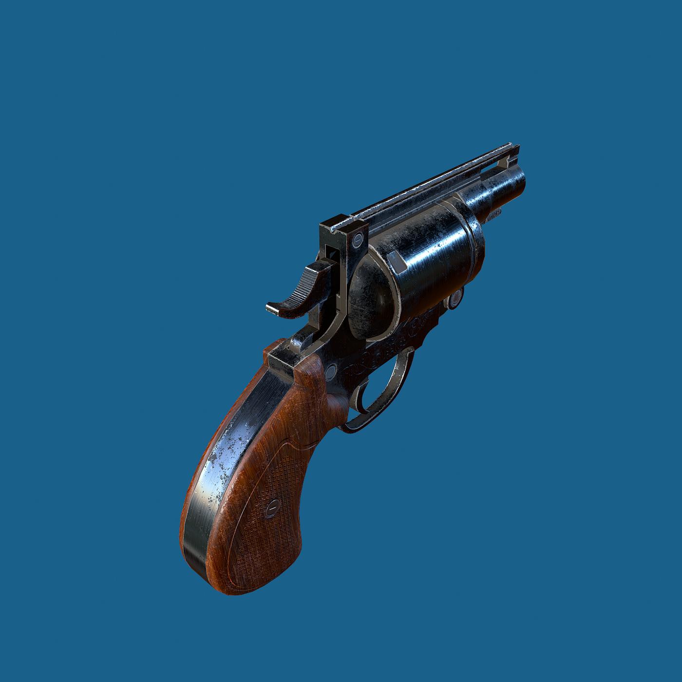 Compact revolver